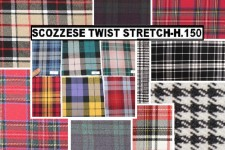 SCOZZESE TWIST STRETCH H.150 CM