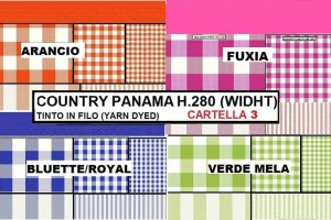 COUNTRY PANAMA (CART.3) H. 280 CM